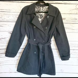 Old Navy Double Breasted Belted Trench Coat XXL